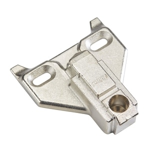Rok Hardware 6mm Blum Clip-face Frame Off-center Mounting Plate (Pack of 10)