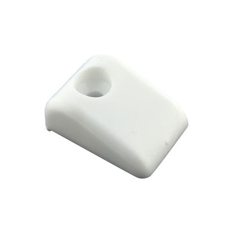 Blum White Plastic Drawer Slide Bumpers for Roll-out Shelves (Case of 50)