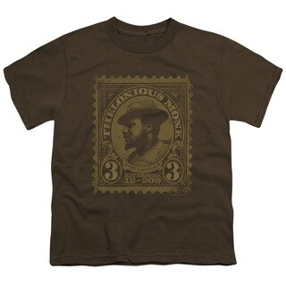 Thelonious Monk/The Unique Short Sleeve Youth 18/1 in Coffee