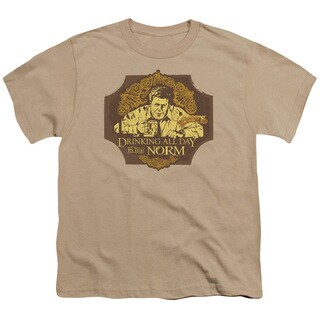 Cheers/The Norm Short Sleeve Youth 18/1 in Sand