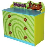 O'Kids Green MDF Scooby Doo Dresser