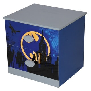Blue MDF Batman Night Stand