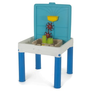 Keter Water Kingdom Blue and White Sand and Water Waterpark Play Table