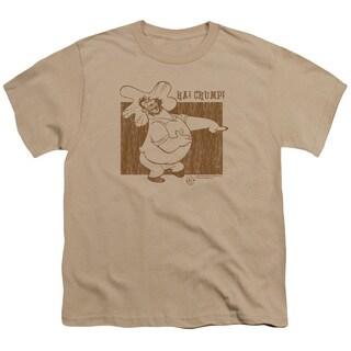 Popeye/Ha! Chump! Short Sleeve Youth 18/1 in Sand
