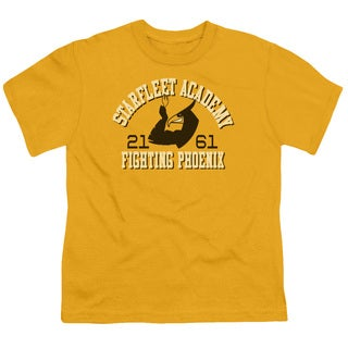 Star Trek/Go Fleet Short Sleeve Youth 18/1 in Gold