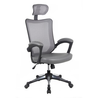 Modern Designs Grey Mesh High-back Executive Office Chair