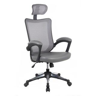 Modern Designs Grey Mesh High-back Executive Office Chair