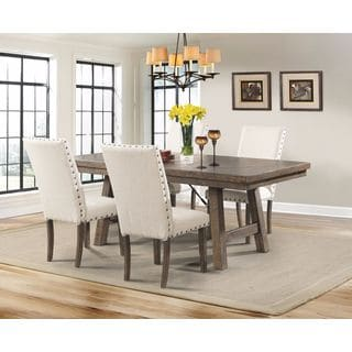 Picket House Dex Dining Table, 4 Side Chairs