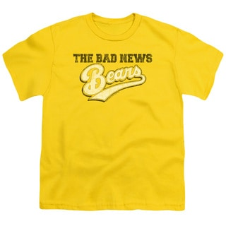 Bad News Bears/Logo Short Sleeve Youth 18/1 in Yellow