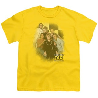Taxi/Sunshine Cab Short Sleeve Youth 18/1 Yellow