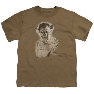 Grimm/Murcielago Sketch Short Sleeve Youth 18/1 in Safari Green