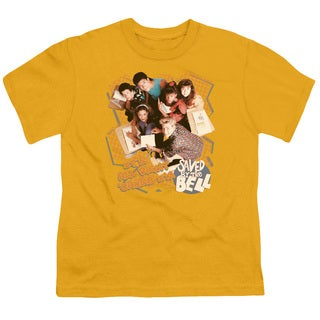 Saved By The Bell/It's All Right Short Sleeve Youth 18/1 in Gold