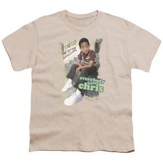 Ehc/Everybody Hates Chris Short Sleeve Youth 18/1 in Cream