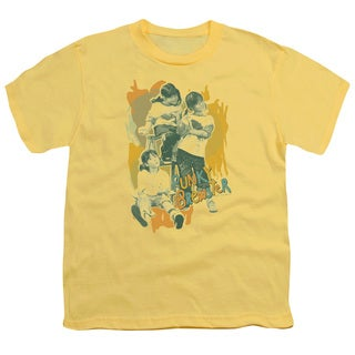 Punky Brewster/Tri Punky Short Sleeve Youth 18/1 in Banana