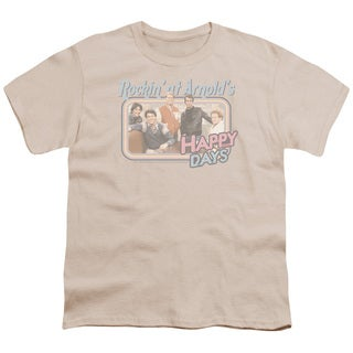 Happy Days/Rockin' At Arnold's Short Sleeve Youth 18/1 Cream