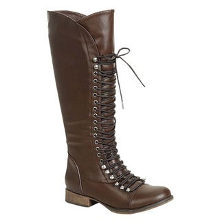 Brown Combat Boots Women&39s Boots - Shop The Best Deals For Mar