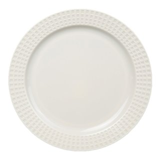 Table To Go 'I Can't Believe It's Plastic' Classic Venice Design White 7.5-inch Salad Plates (Set of 50)