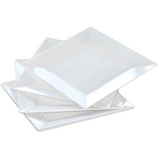 Table To Go White Plastic Dinnerware Set (75-piece Set)