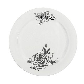 Table To Go White Plastic Dinner Plates (50-piece Set)