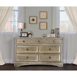 Evolur Gold-tone Wood Dresser Drawers