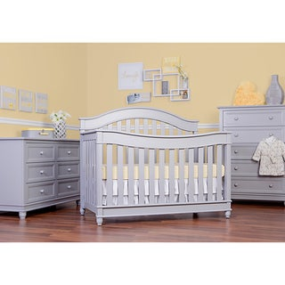 Evolur Hampton 5-in-1 LifeStyle Convertible Crib