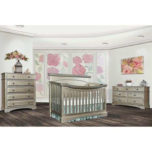 Shop Evolur Catalina Flat Top Crib On Sale Overstock