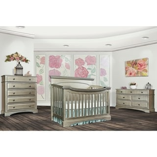 Evolur Catalina Flat Top Collection Bronze-finish Wood Convertible Crib