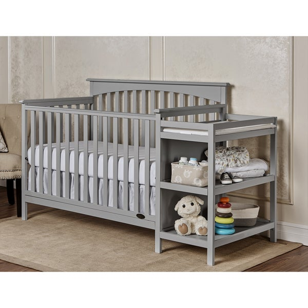 5 Cool Cribs That Convert To Full Beds: Dream On Me Chloe Grey 5-in-1 Convertible Crib With