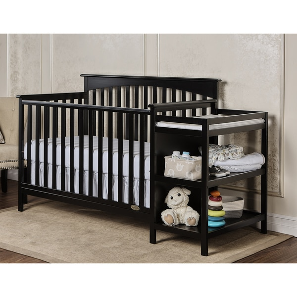 Dream On Me Chloe 5 in 1 Convertible Crib with Changer. Opens flyout.