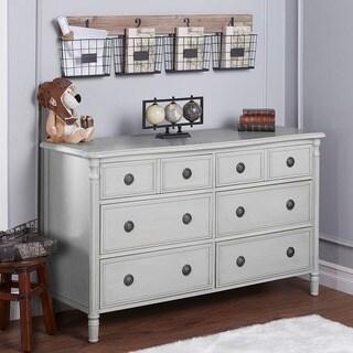 Evolur Julienne Dove Grey 6-drawer Double Dresser