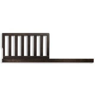 Evolur Cappuccino Wood Toddler Rail