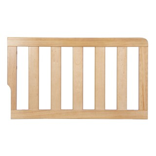 Dream On Me Natural-finish Wood Universal Convertible Crib Toddler Guard Rail