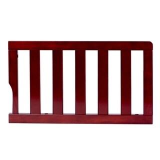 Dream On Me Espresso Wood Universal Convertible Crib Toddler Guard Rail