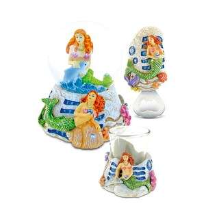 Home Decor Value Pack Mermaid Resin Stone collection - Set of 3