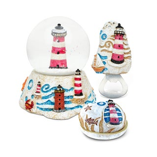 Home Decor Value Pack Lighthouse Resin Stone collection - Set of 3