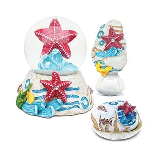 Home Decor Value Pack Starfish Resin Stone collection - Set of 3