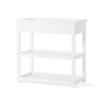 Child Craft Abbott Matte White Wood Dressing Table