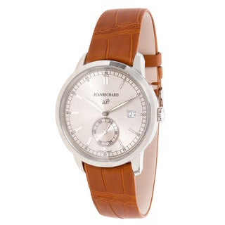 Pre-Owned JeanRichard 1681 Ronde Sunray 60310-11-132 Mens Watch in Stainless Steel