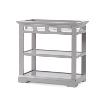 Child Craft Kayden Cool Gray Wood Dressing Table