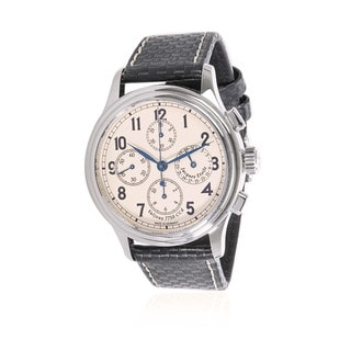 Pre-Owned Jacques Etoile Chronograph 3161 Mens Watch in Stainless Steel