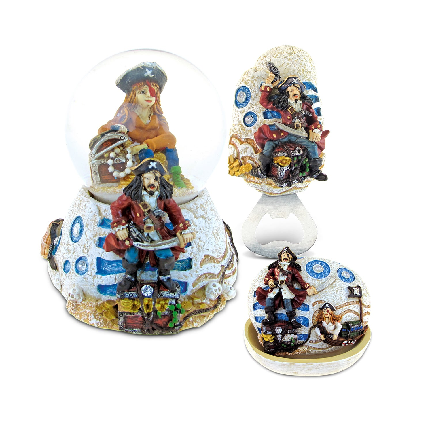 Puzzled Home Decor Value Pack Mermaid Pirate Stone collec...