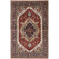 eCarpetGallery Serapi Heritage Red Wool Hand-knotted Rug (5'0 x 7'10)
