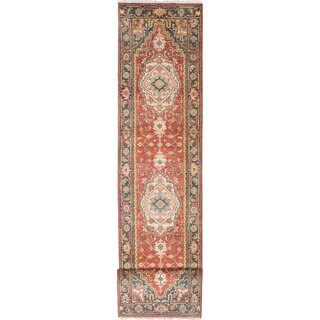 eCarpetGallery Serapi Heritage Brown Wool and Cotton Hand-knotted Oriental Runner Rug (2'7 x 20')