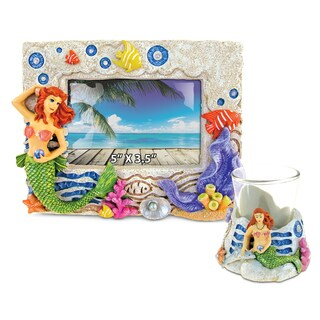 Home Decor Value Pack Mermaid Resin Stone collection - Set of 2