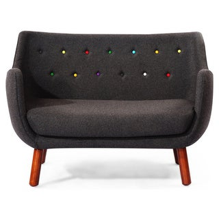 Kardiel 1946 Parlor Wool/Solid Wood Mid-century Modern Sofa