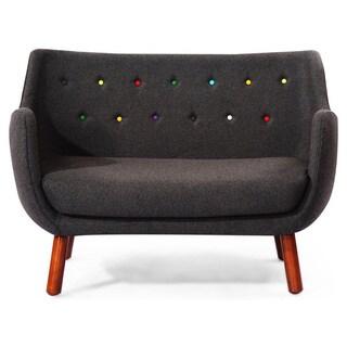 Kardiel 1946 Parlor Wool/Solid Wood Mid Century Modern Sofa