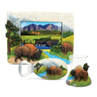 Home Decor Value Pack Buffalo Resin Stone collection - Set of 3