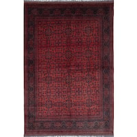 eCarpetGallery Finest Khal Mohammadi Brown Wool Hand-knotted Rug (6'4 x 9'5)