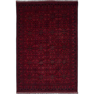 eCarpetGallery Khal Mohammadi Red Wool Hand-knotted Area Rug (6'9 x 10'1)