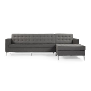 Kardiel Florence Sectional Chaise Wool Sofa